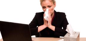 Отличия аллергического насморка (ринита) от простудного