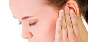 Что делать, если при насморке заложило ухо?