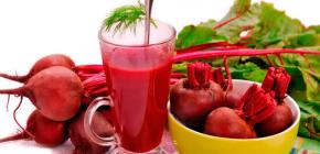 Как использовать свекольный сок от насморка?