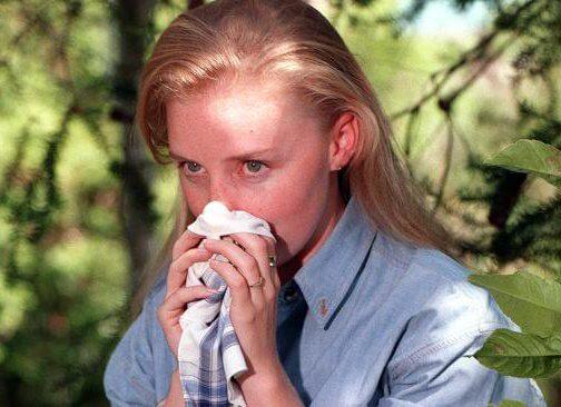 Сыпь на коже при аллергическом насморке