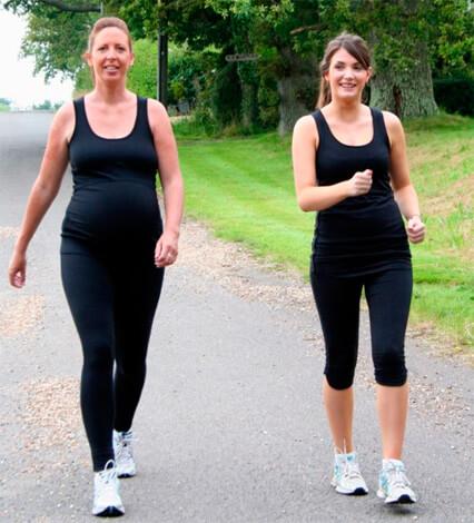 Прогулки необходимы беременным на любых сроках.