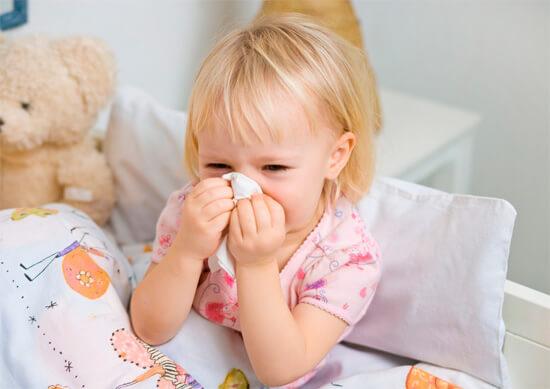Гнойный насморк у детей