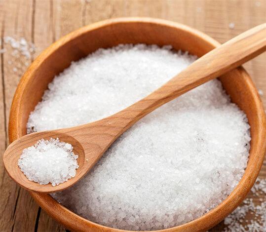 Чайная ложка соли для соляного раствора от насморка