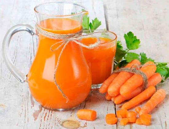 Сок моркови не следует использовать как назальное средство.