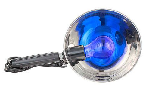 Ультрафиолетовая лампа является бактерицидным средством.