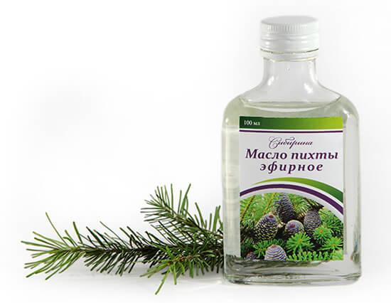 Пихтовое масло - эффективное средство от насморка