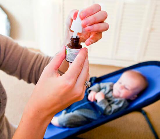Антибактериальные капли в нос ребенку от года