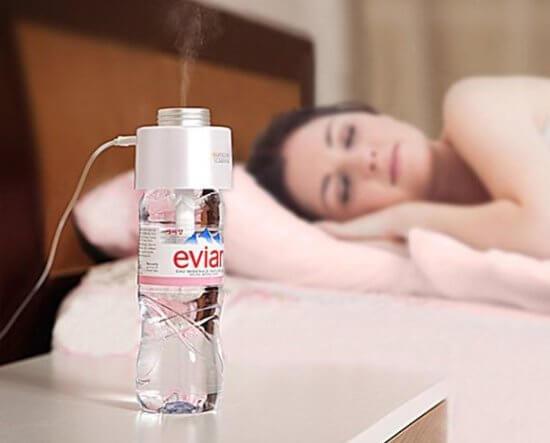 Увлажнитель воздуха позволяет поддерживать влажность в помещении на оптимальном уровне