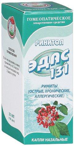 Гомеопатические капли ЭДАС-131