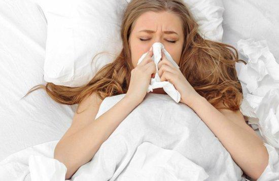 Насморк может быть признаков вирусной инфекции