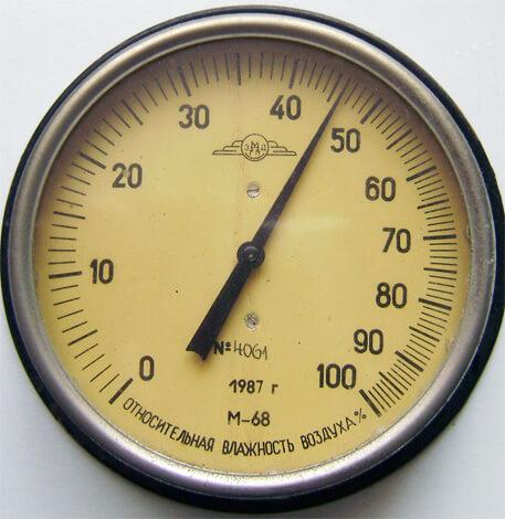 Гигрометр - прибор для определения уровня влажности