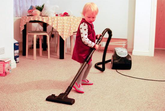 Частые уборки в доме