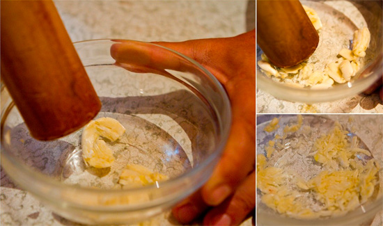 Приготовление чистого чесночного сока от насморка