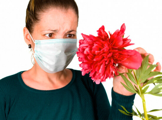 Ватно-марлевая повязка при аллергическом насморке
