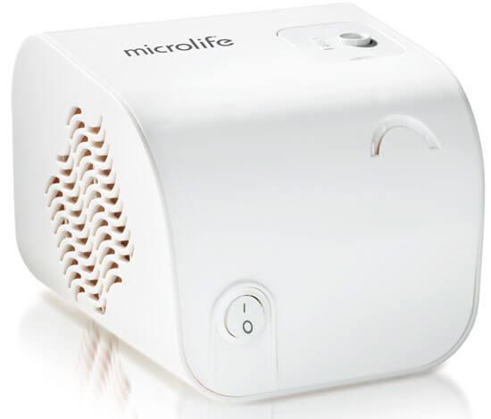 Компрессорный ингалятор Microlife может регулировать дисперсность аэрозоля.