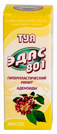 Гомеопатия ЭДАС-801
