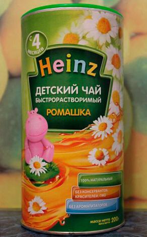 Детский чай Heinz