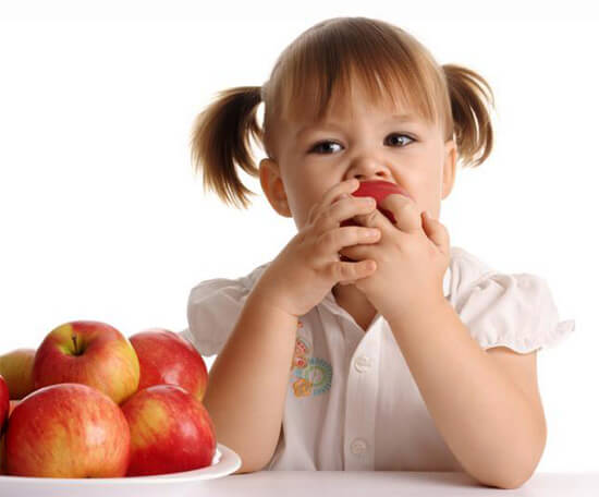 Хороший аппетит у ребенка