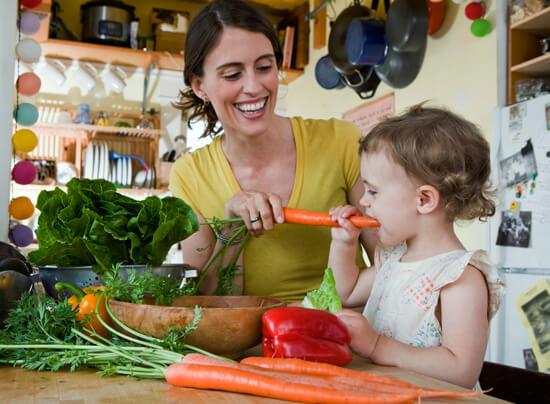 Макро- и микроэлементы, содержащиеся в овощах, могут попасть в кровь только через пищеварительный тракт.