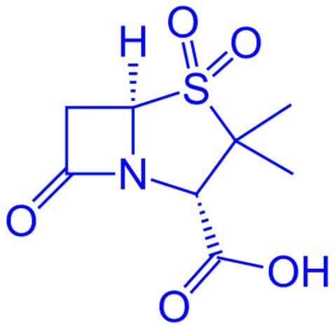 Формула сульбактама