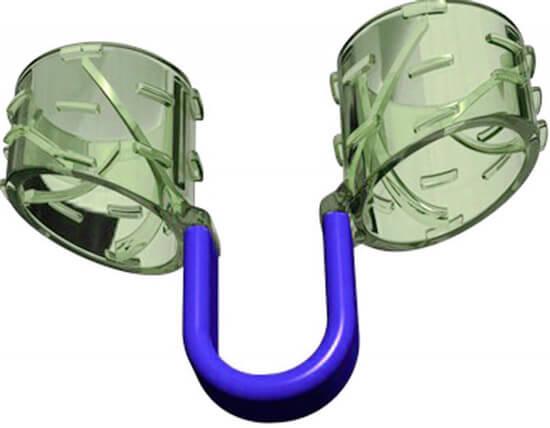 Дилататор для носа обеспечивает улучшение проходимости, но создает ощутимый дискомфорт.