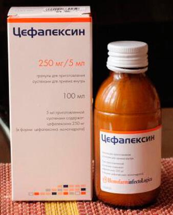 Гранулы Цефалексин