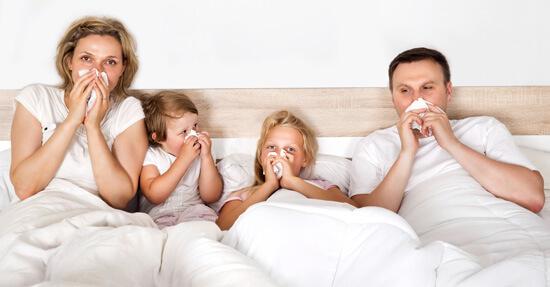 Ночной насморк у всей семьи