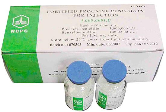 Прокаиновая соль бензилпенициллина