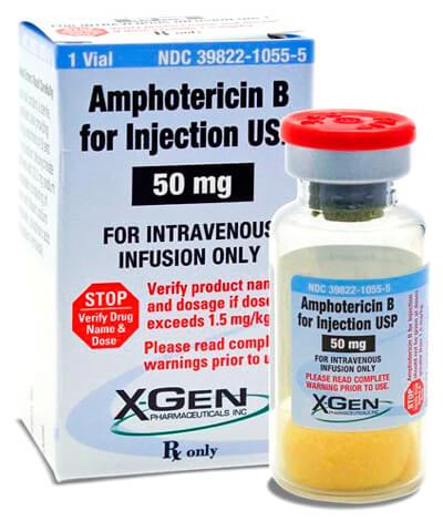 Тяжелая артиллерия для наиболее сложных случаев: Амфотерицин В вводится в организм только внутривенно.