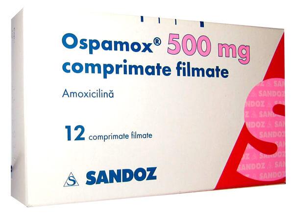 Оспамокс - одно из торговых названий амоксициллина