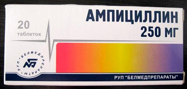 На сегодняшний день применение ампициллина при ангине не считается целесообразным.