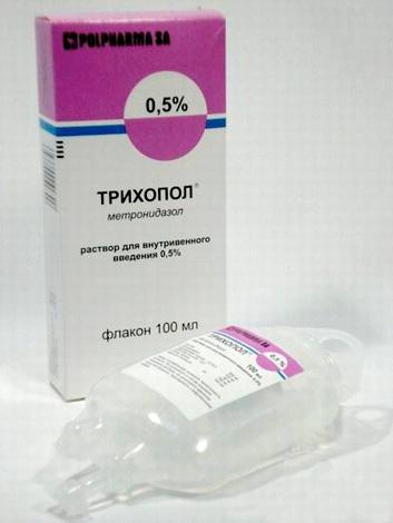 Трихопол - средство для борьбы с простейшими, но не с бактериями - возбудителями ангины...