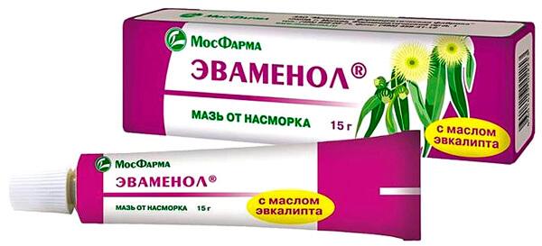 Выраженное терапевтическое действие мази Эваменол не доказано.