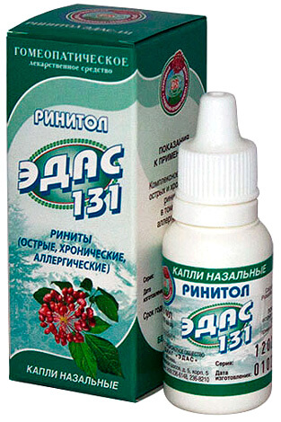 ЭДАС-131 - типичное средство-плацебо.
