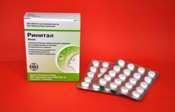 Не известно, за счёт каких свойств Ринитал способен оказывать профилактическое действие при аллергическом рините.