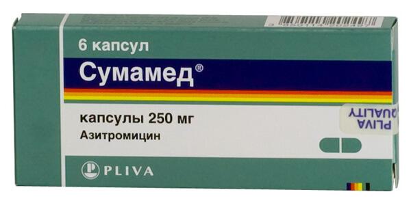 Сумамед вызывает побочные эффекты реже главного конкурента - Аугментина.