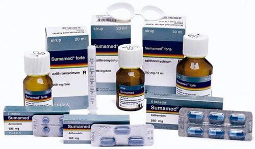 При всем многообразии препаративных форм состав Сумамеда остаётся неизменным, а его действующее вещество может оказаться неэффективным при ангине.