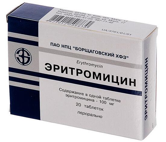 Диарея после эритромицина случается чаще, чем, например, после амоксициллина.